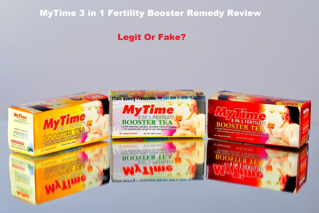 MyTime 3 in 1 fertility booster remedy